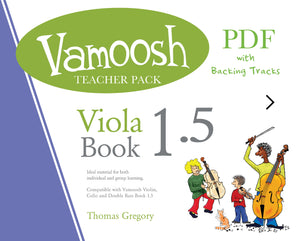 Vamoosh Viola Book 1.5 Teacher Pack (PDF)