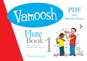 Vamoosh Flute Book 1 Teacher Pack (PDF)