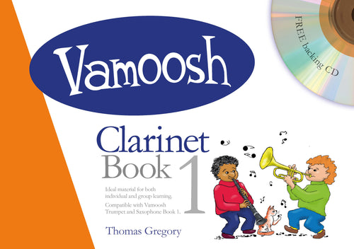 Vamoosh Clarinet Book 1 Book & CD