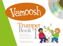 Load image into Gallery viewer, Vamoosh Trumpet Book 1 Book & CD