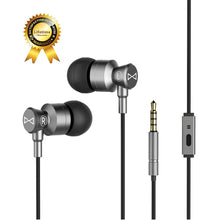 Marsno M1 Wired Metal In Ear Headphones, Noise Isolating Stereo Bass Earphones