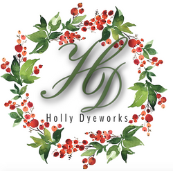 Holly Dyeworks - official logo