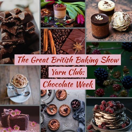 The Great British Baking Show Yarn Club: Chocolate Week (Preorder)
