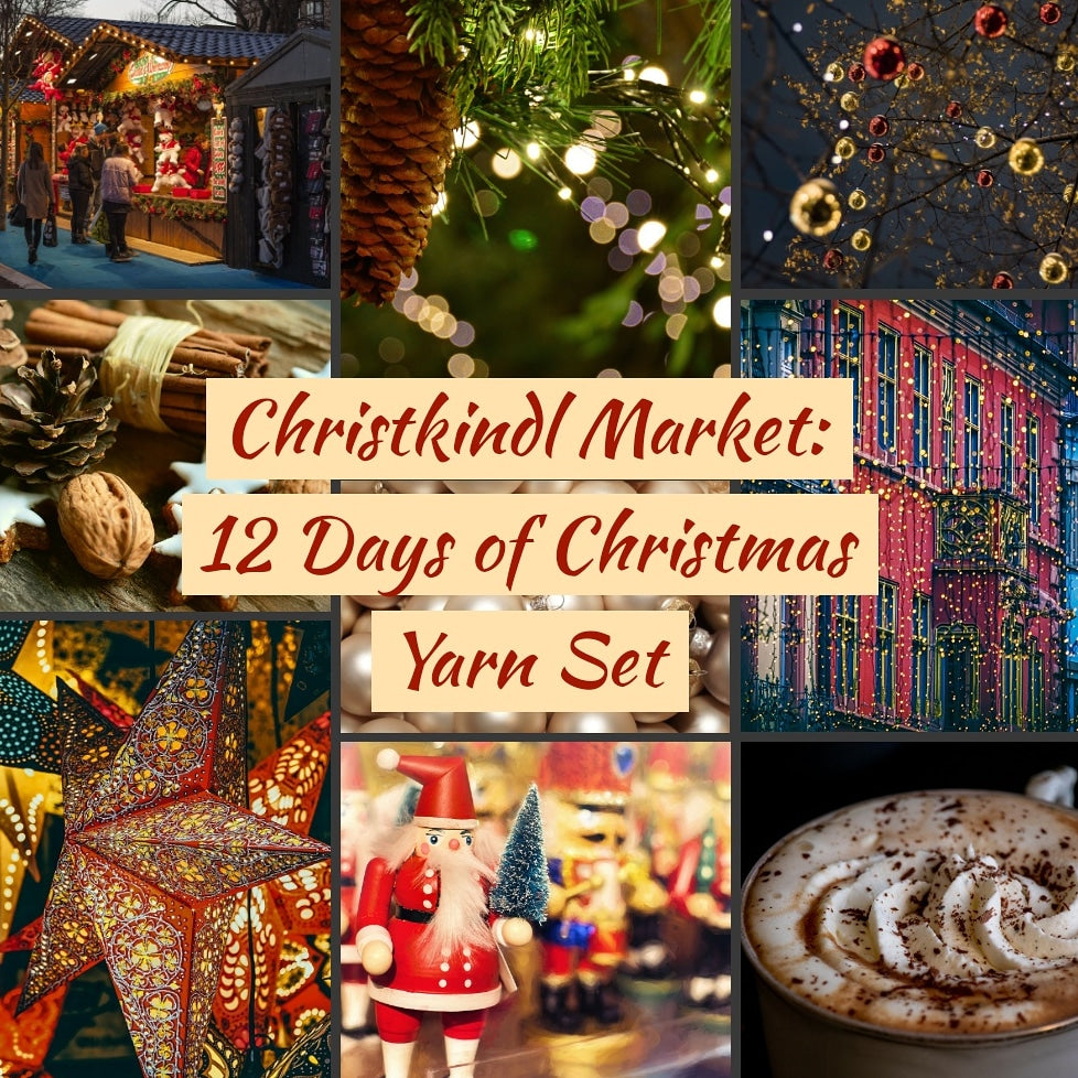 Christmas Market: 12 Days of Christmas Yarn Set