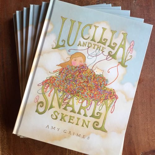 Lucilla and the Snarly Skein: Book and Yarn Gift Set