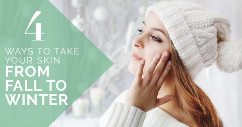 Skincare fall to winter