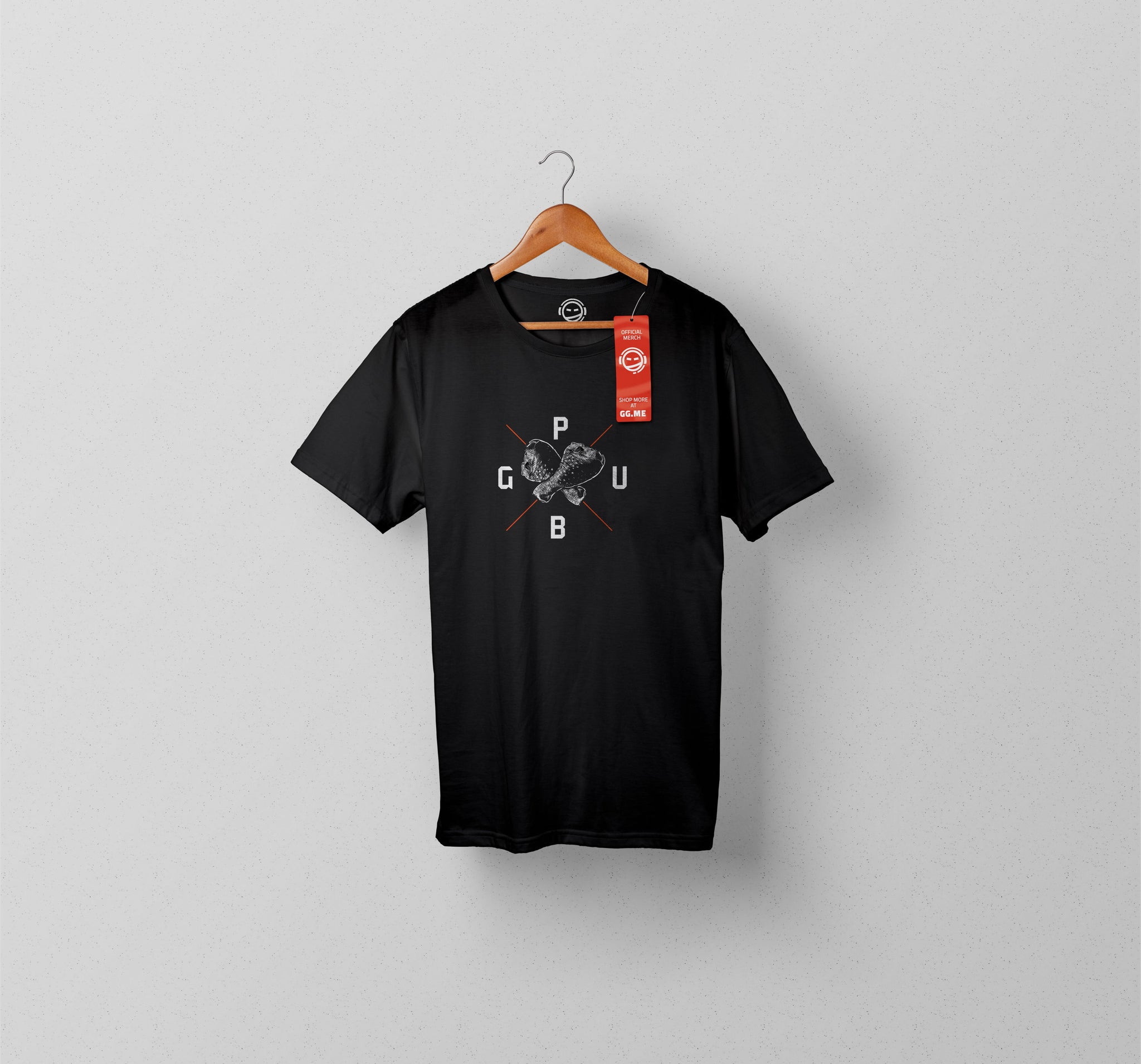 PUBG Chicken Logo T-shirt