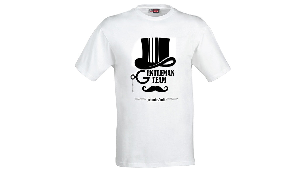 Gentleman Team White T-shirt
