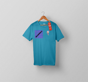 Galla Sticker Shirt BLUE