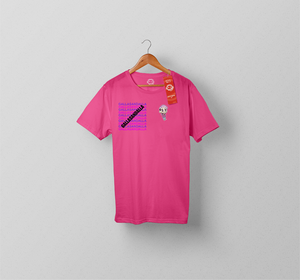 Galla Sticker Shirt PINK
