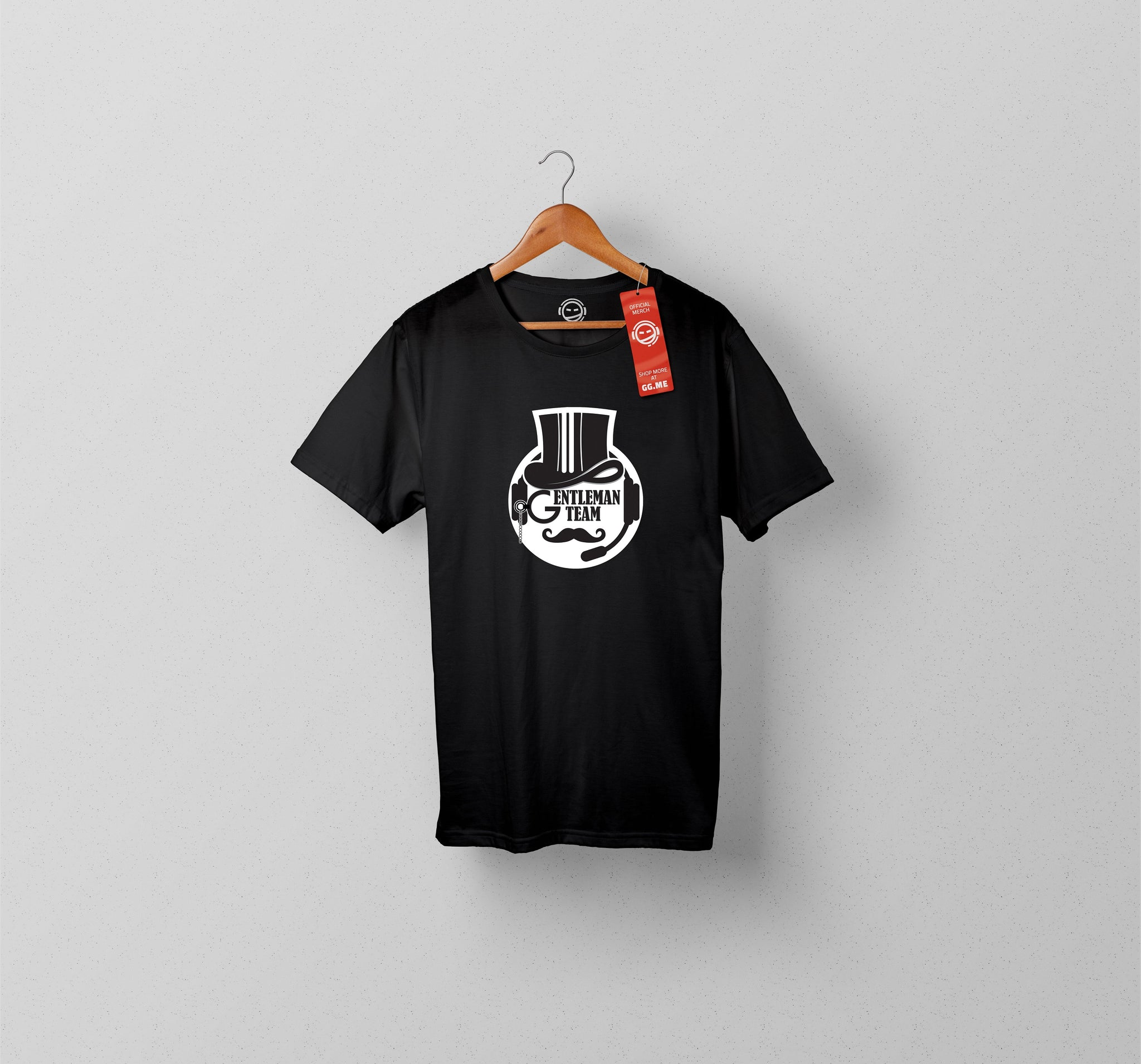 Gentleman Team Black T-shirt