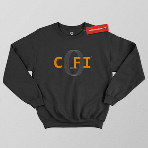 COFI Circle Black Sweatshirt