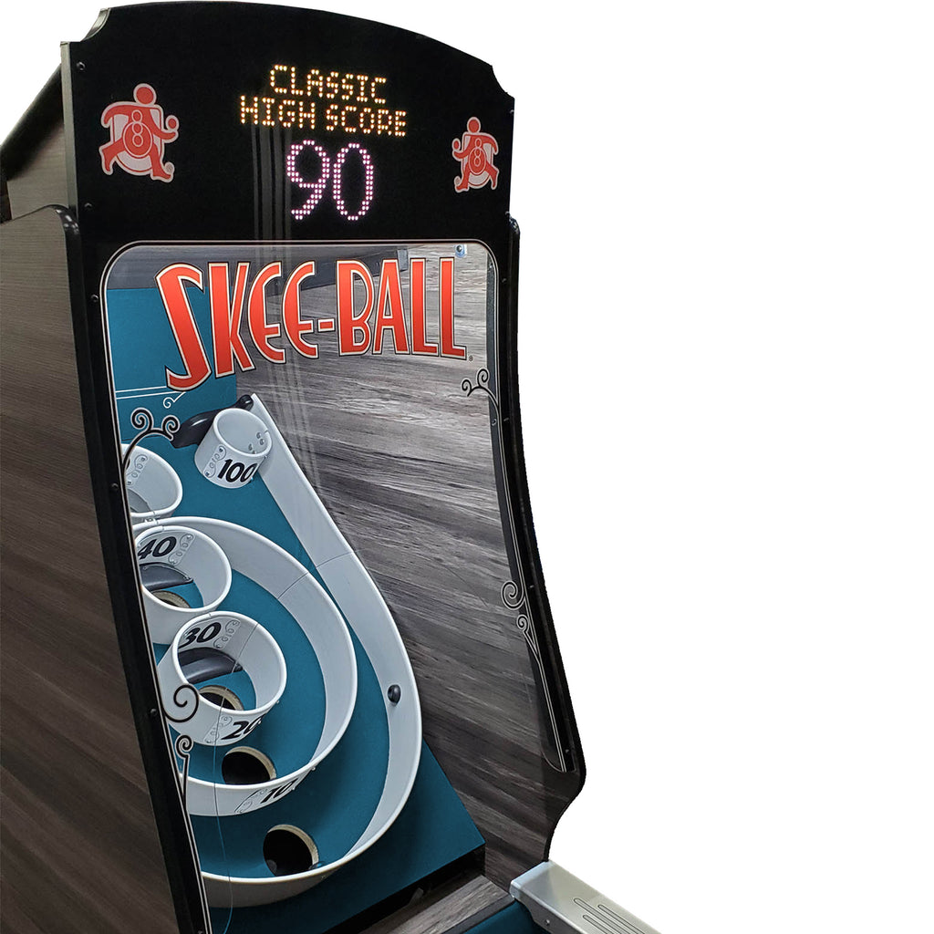 Skee-Ball Premium Home Arcade with Indigo Cork