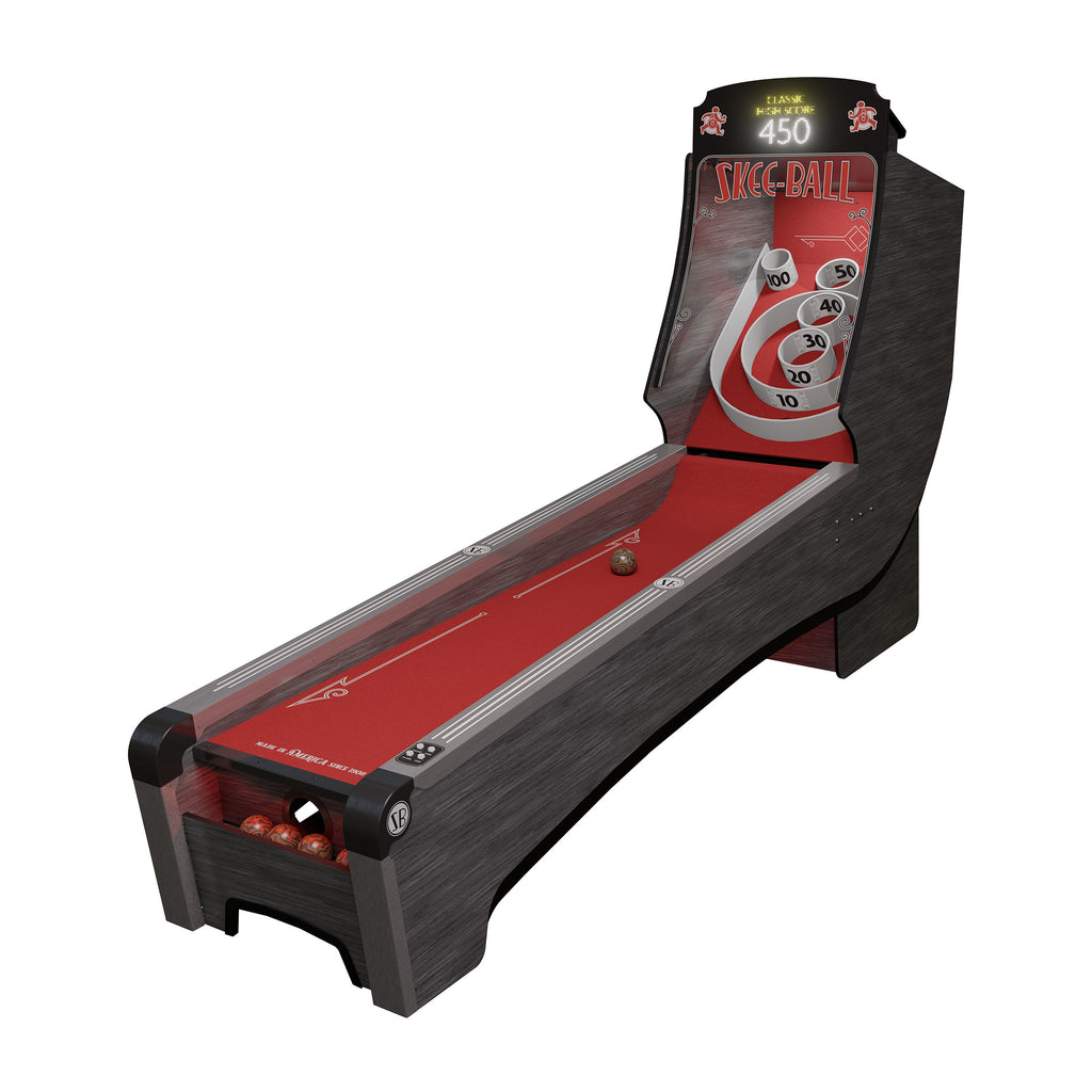 Skee-Ball Premium Home Arcade with Scarlet Cork