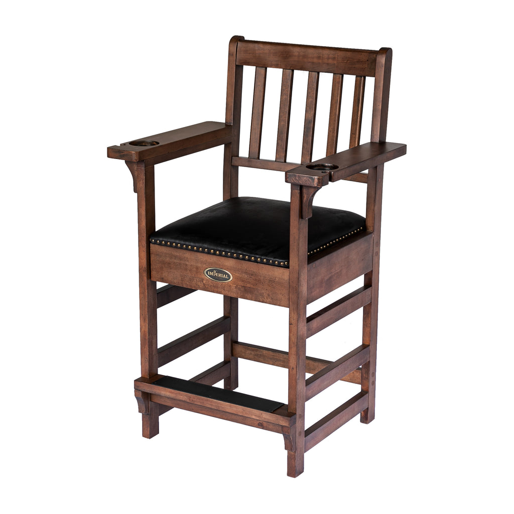 Whiskey Premium Spectator Chair with Drawer