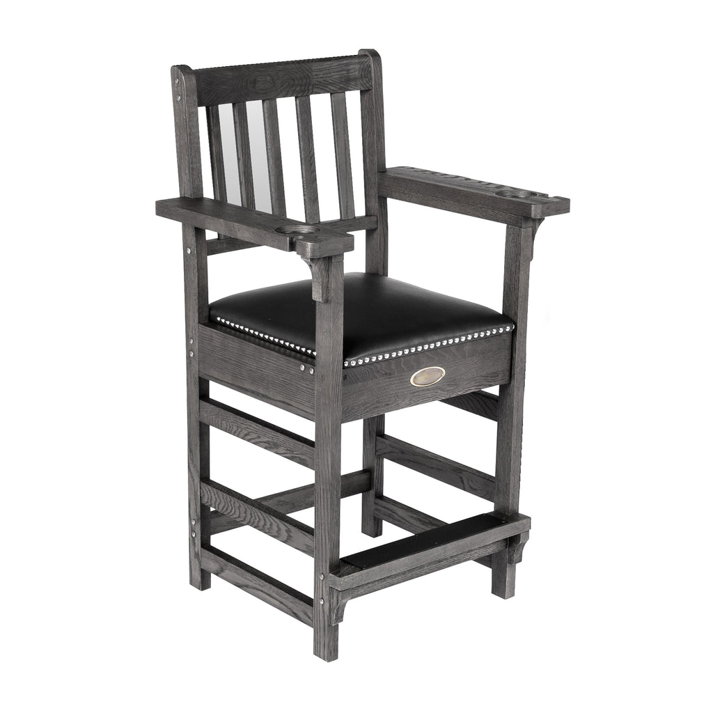 Silver Mist Premium Spectator Chair with Drawer