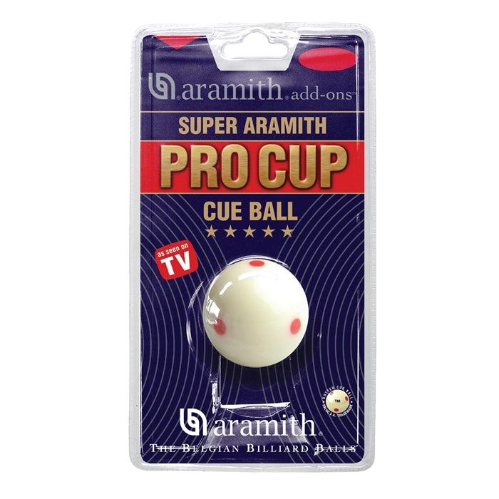 Aramith Pro Cup Multi Dot Cue Ball