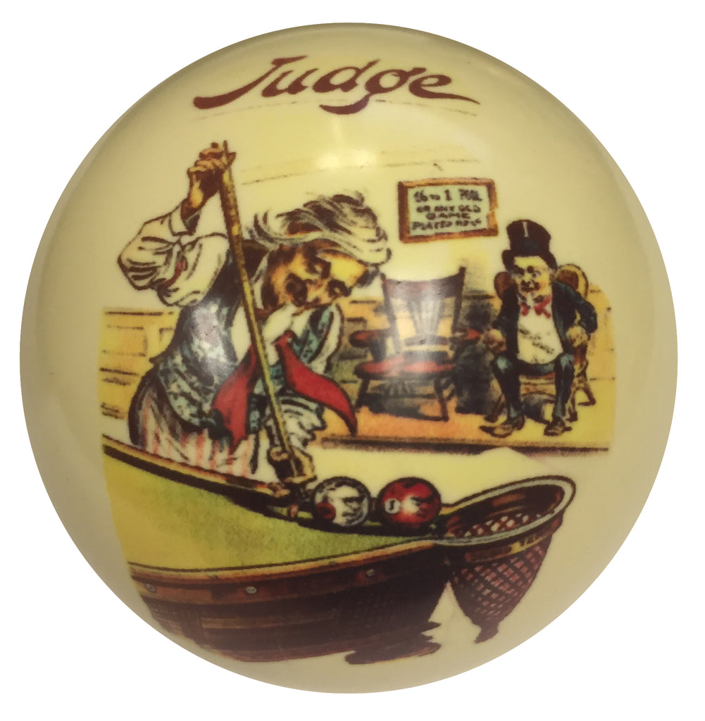 The Judge Custom Cue Ball