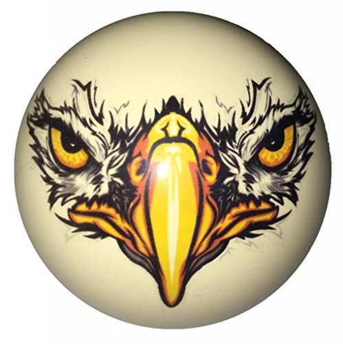 Eagle Face Custom Cue Ball