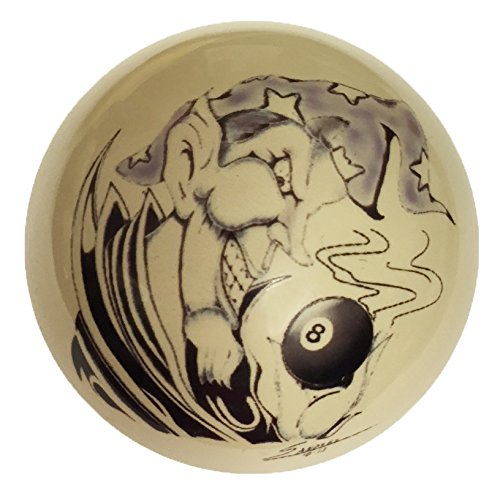 8 Ball Wizard Custom Cue Ball