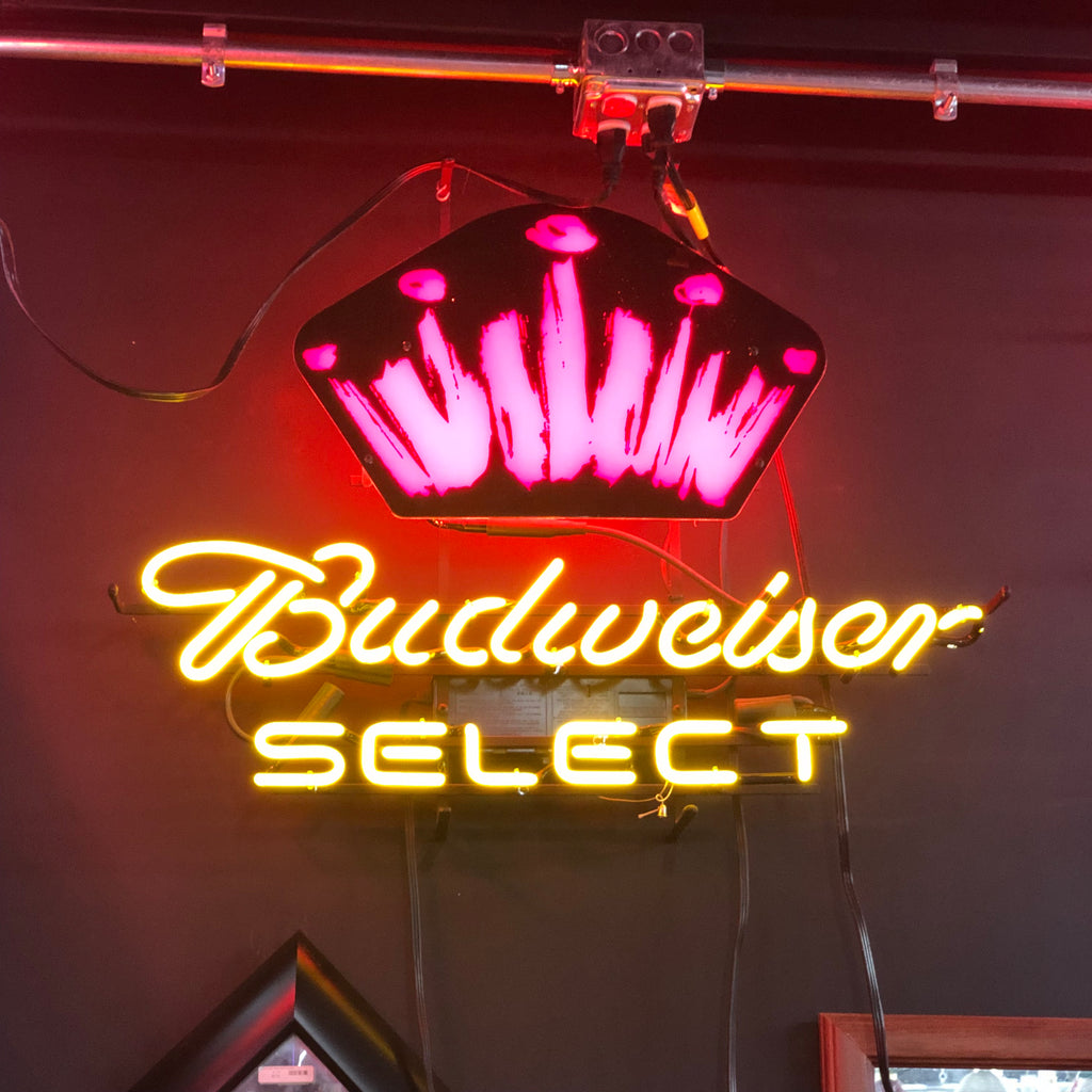 Budweiser Select Neon Light
