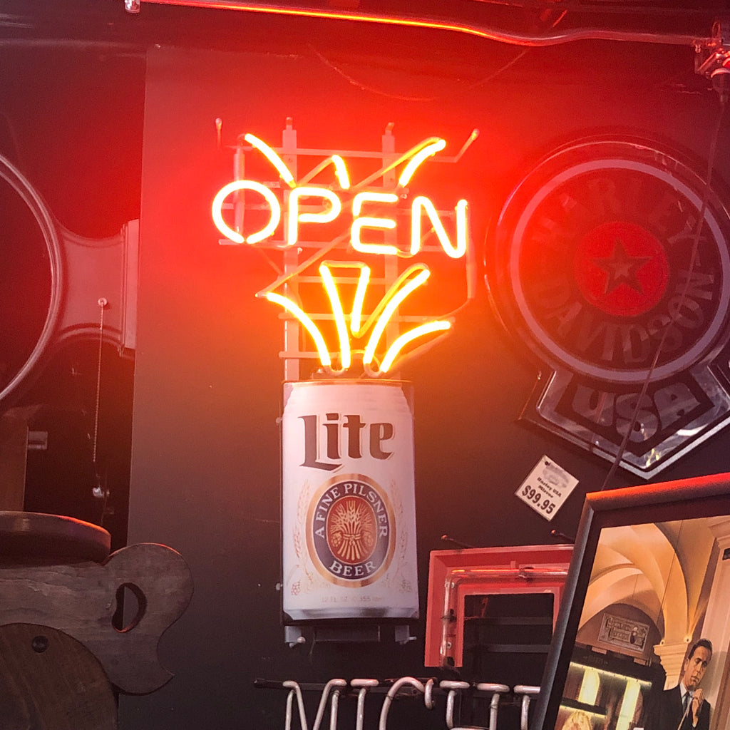 Bud Lite Open Neon Light