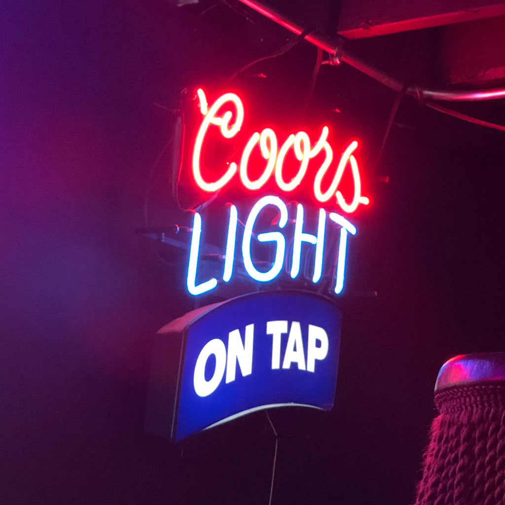 Coors on Tap Neon Light