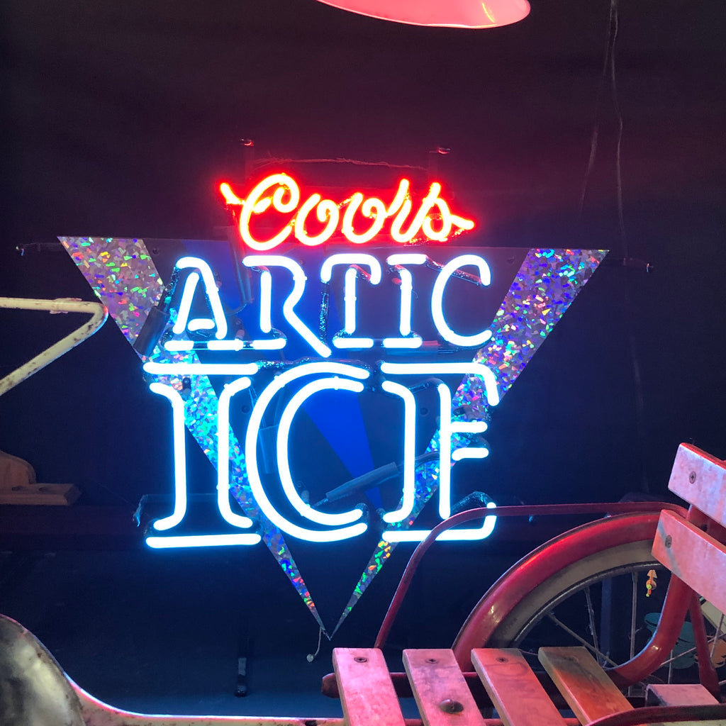 Arctic Ice Neon Light