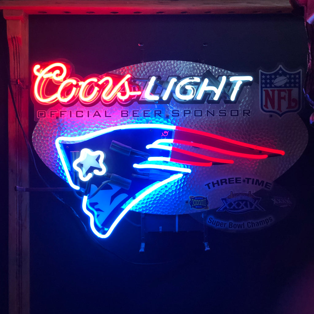 Patriots Neon Light