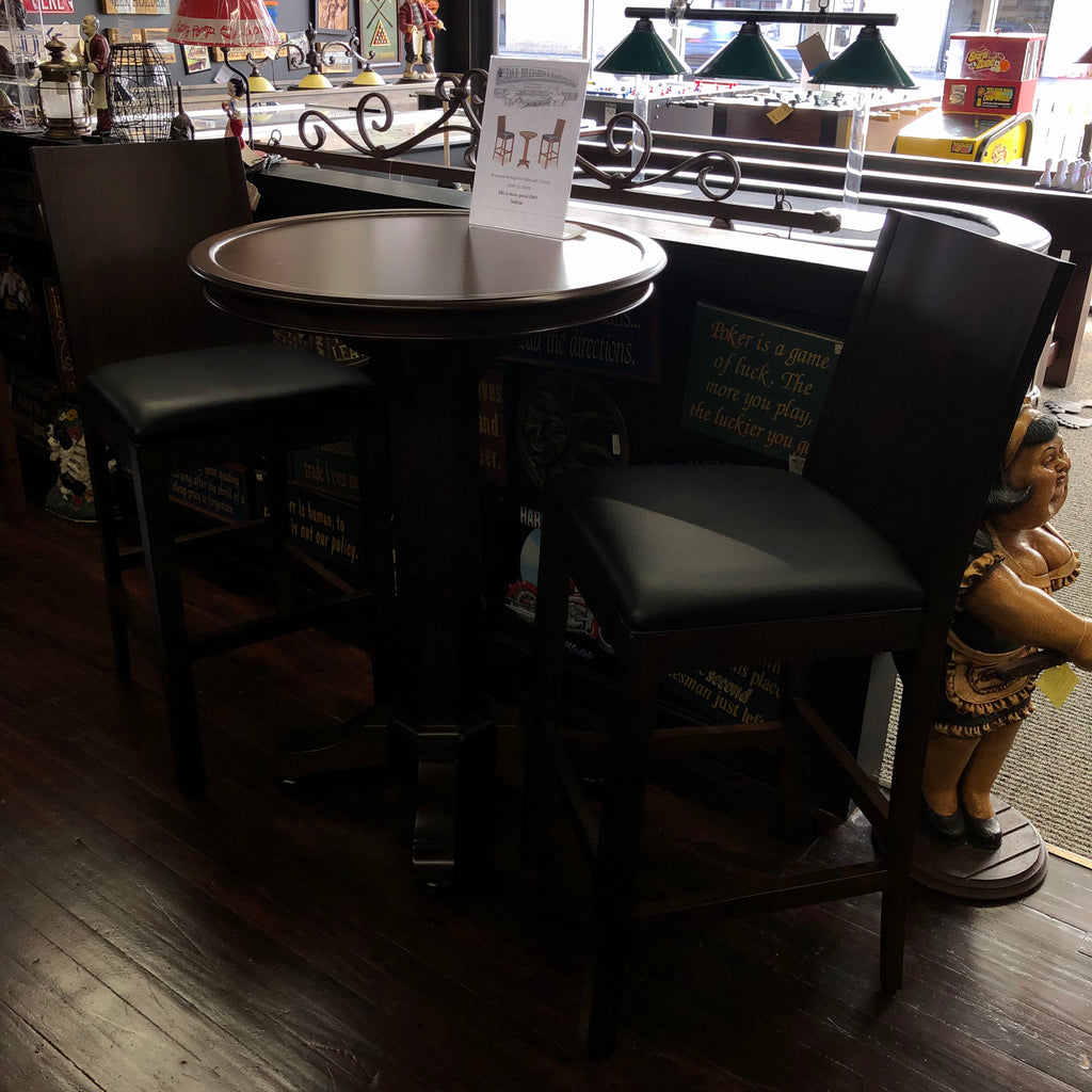 Brunswick Heritage Pub Table Special with Barstools