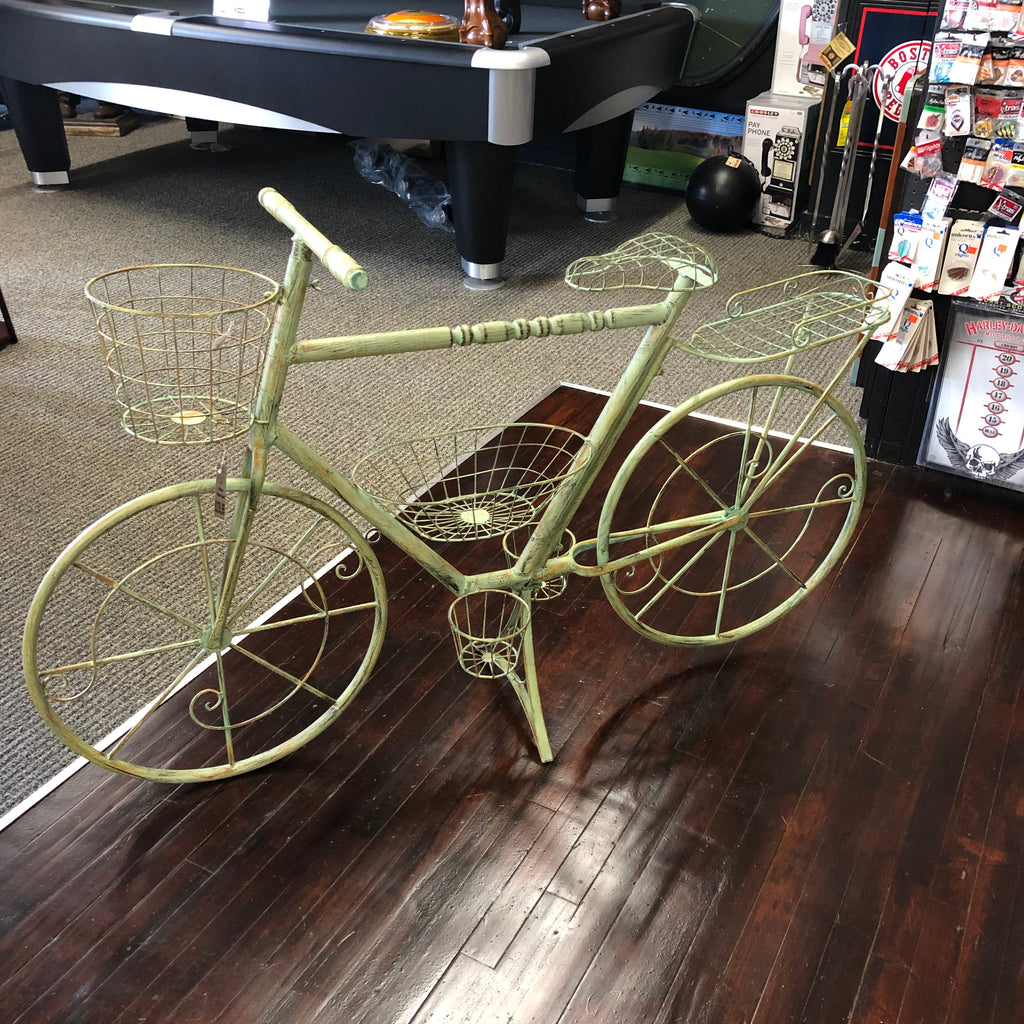 Bicycle Planter Stand