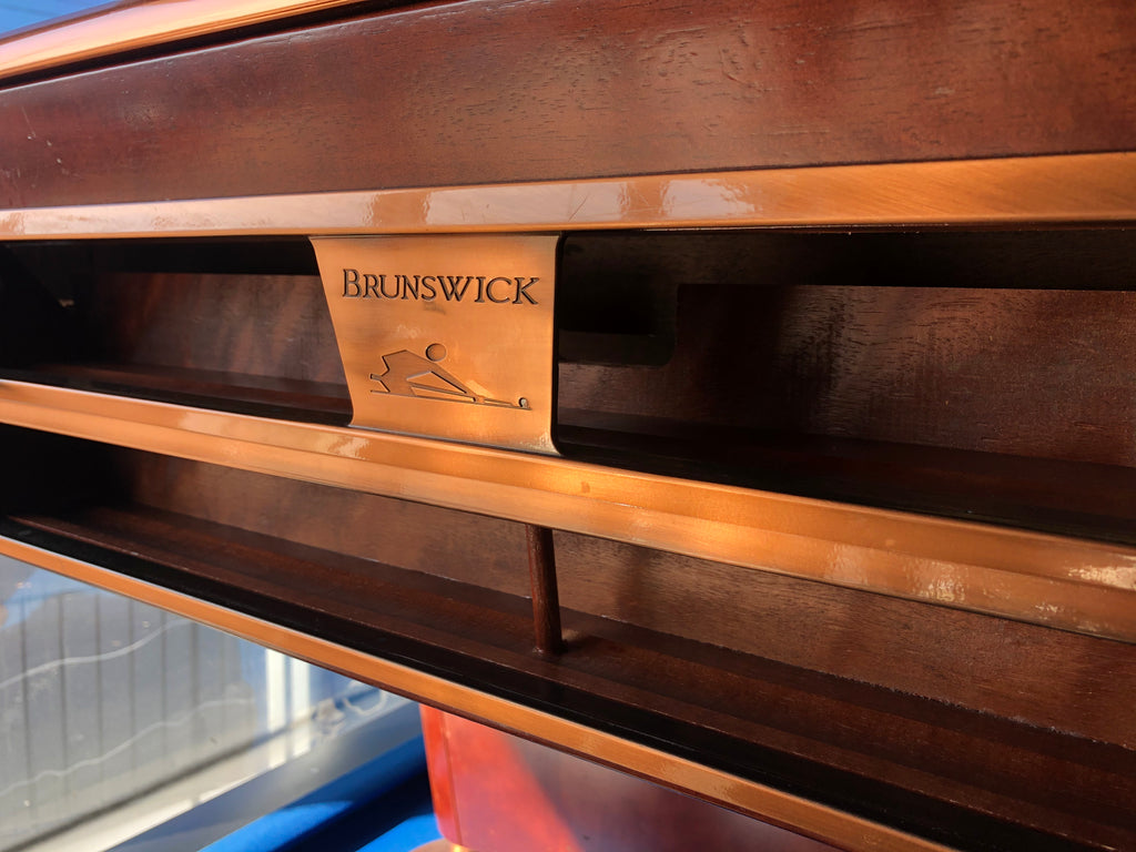 Used 9Ft Brunswick Gold Crown IV