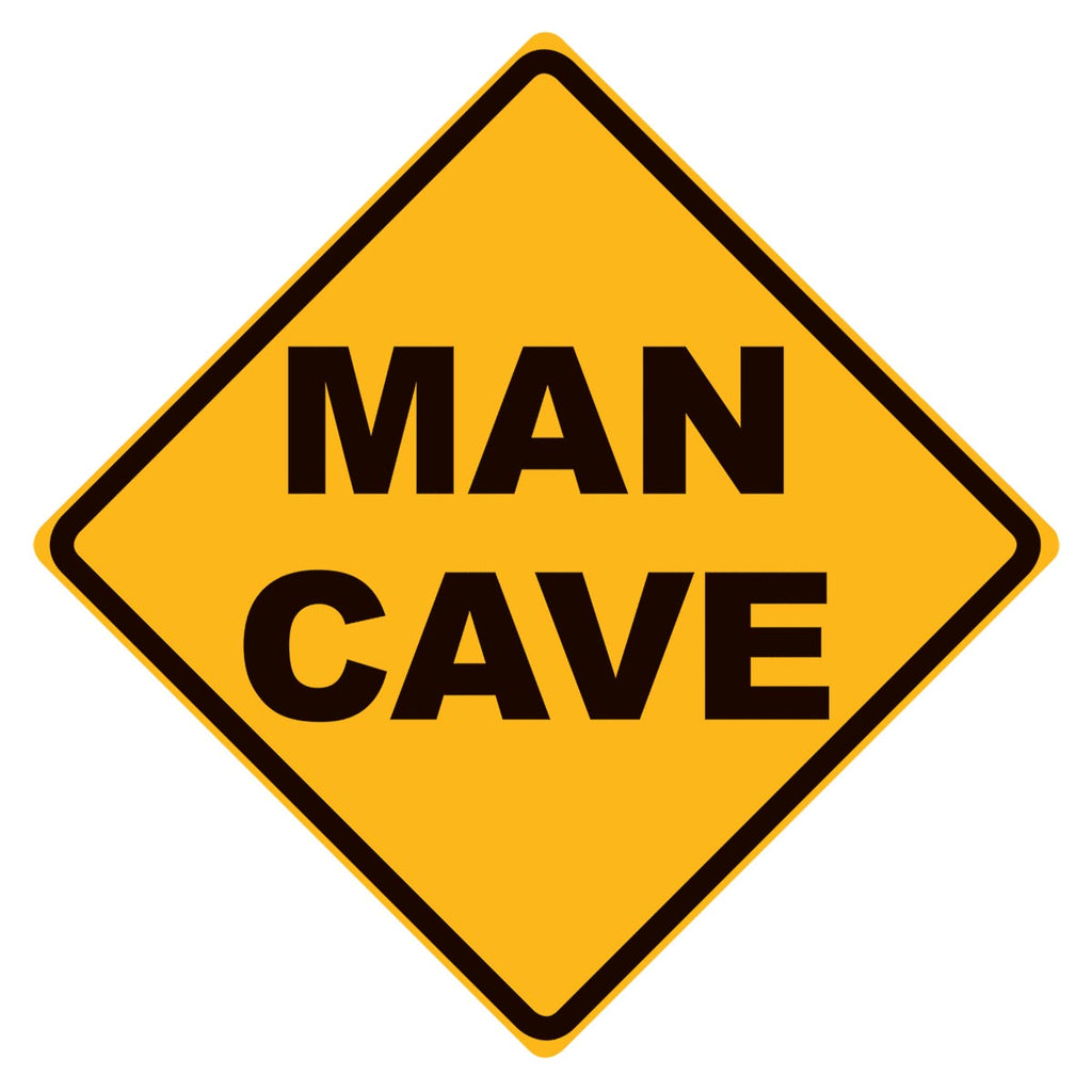 Man Cave Aluminum Metal Wall Art