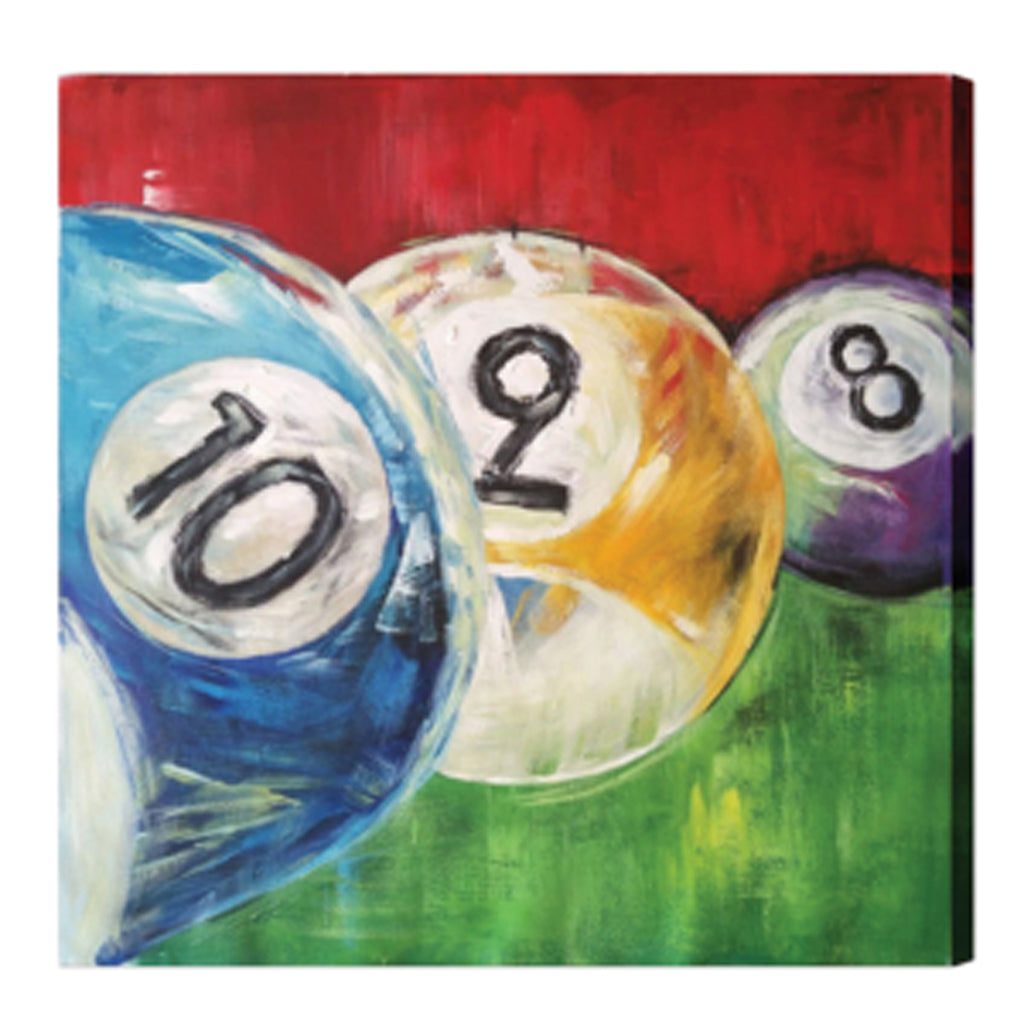 Pool Balls Canvas Oil Painting
