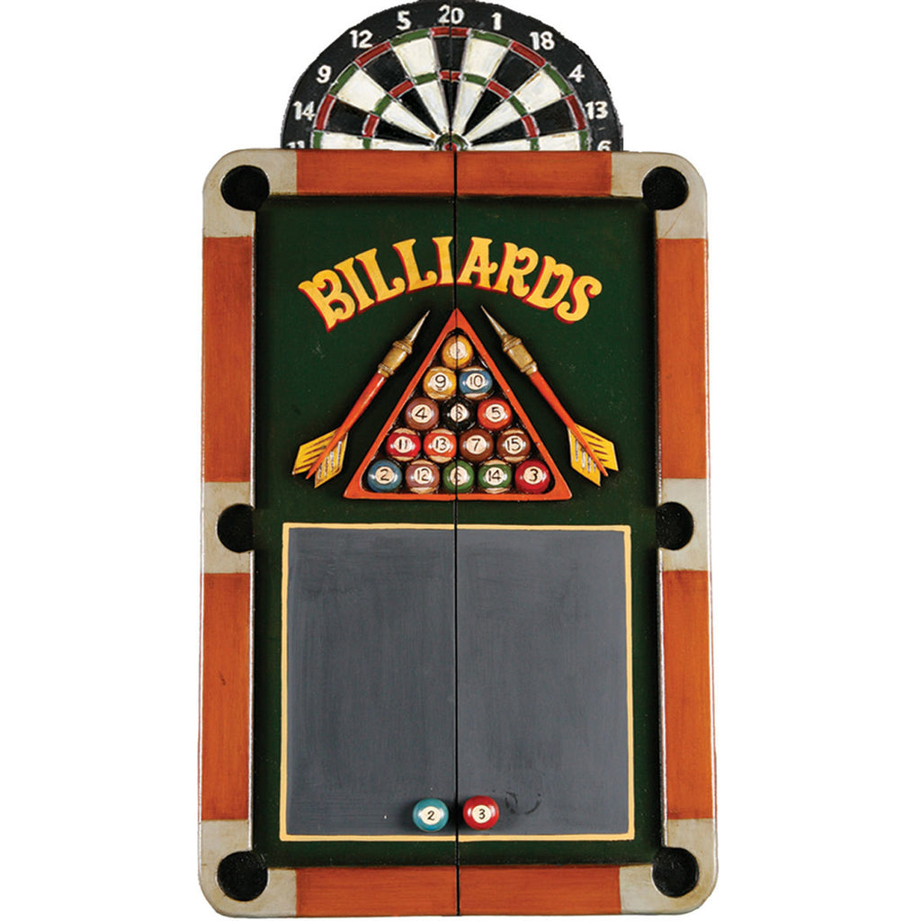 Billiards Dart Board Cabinet
