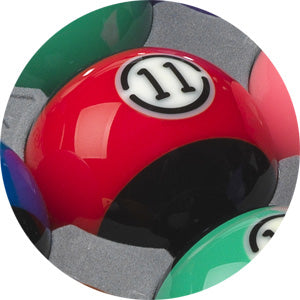 Aramith Tournament BLACK Pool Ball Set