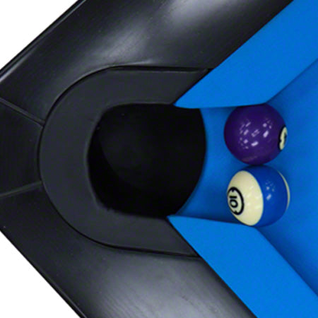9ft Pro-Am Pool Table in Black