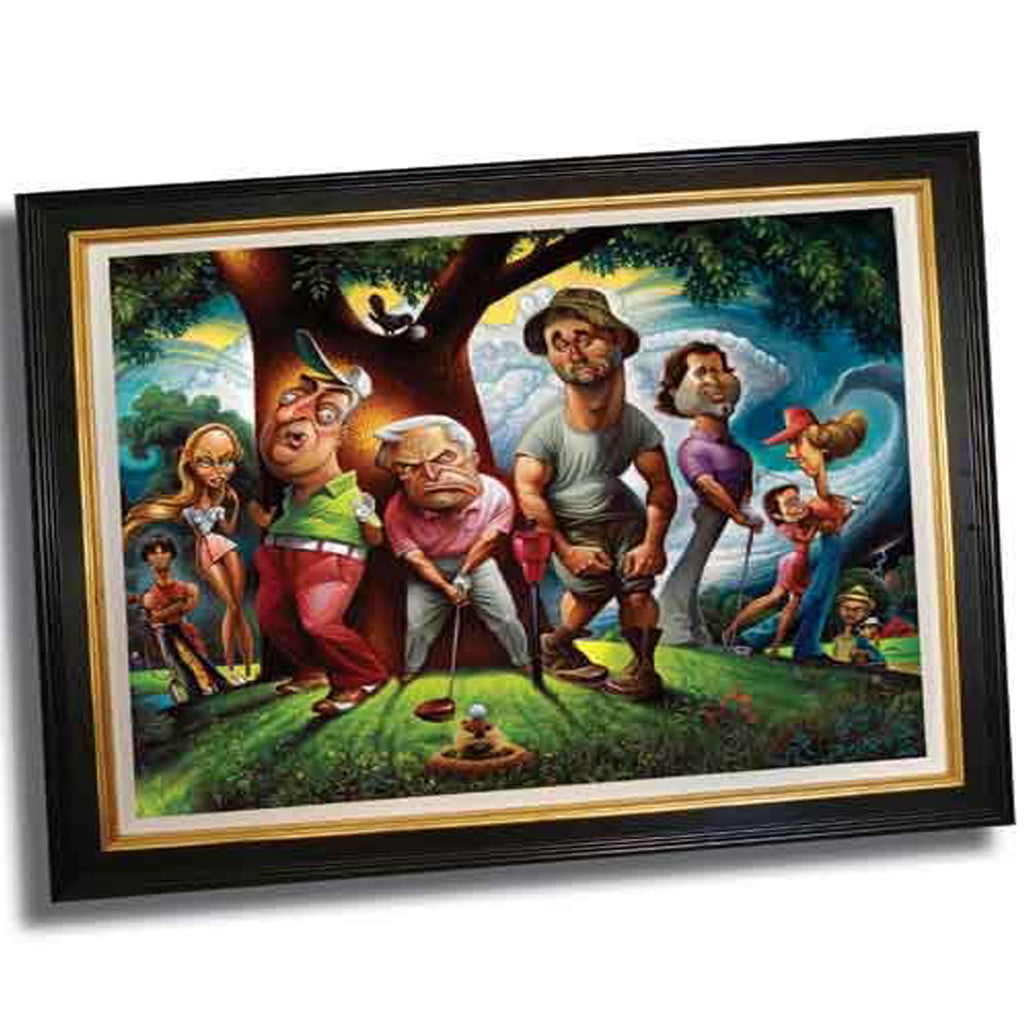 Caddy Shack Framed Movie Scene Wall Art by O'Keefe