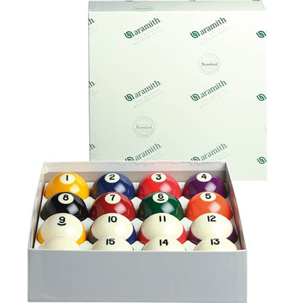 Aramith Crown Pool Ball Set