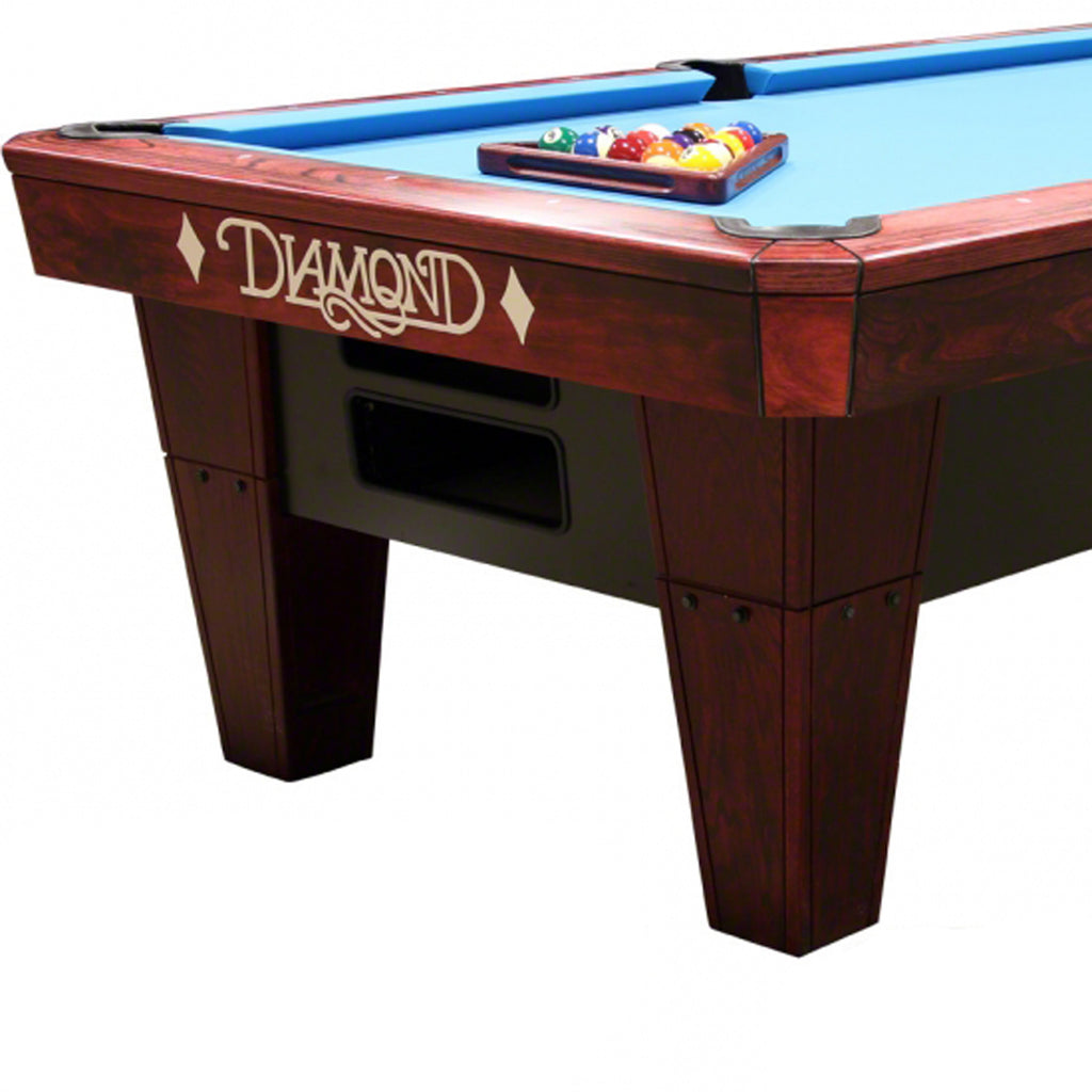 7ft Pro-Am Pool Table in Rosewood Dymalux