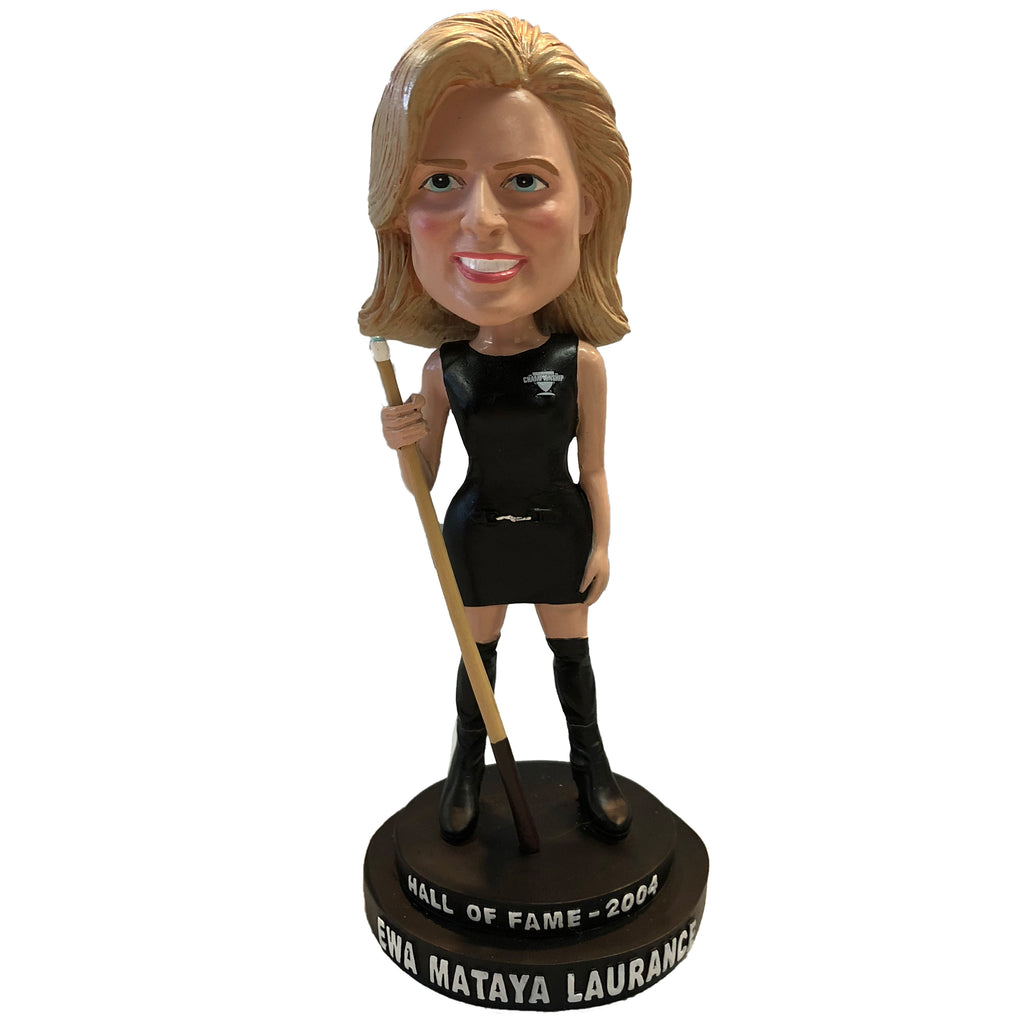 Ewa Mataya Laurance Bobblehead Pool Player Legend Collector Series #3
