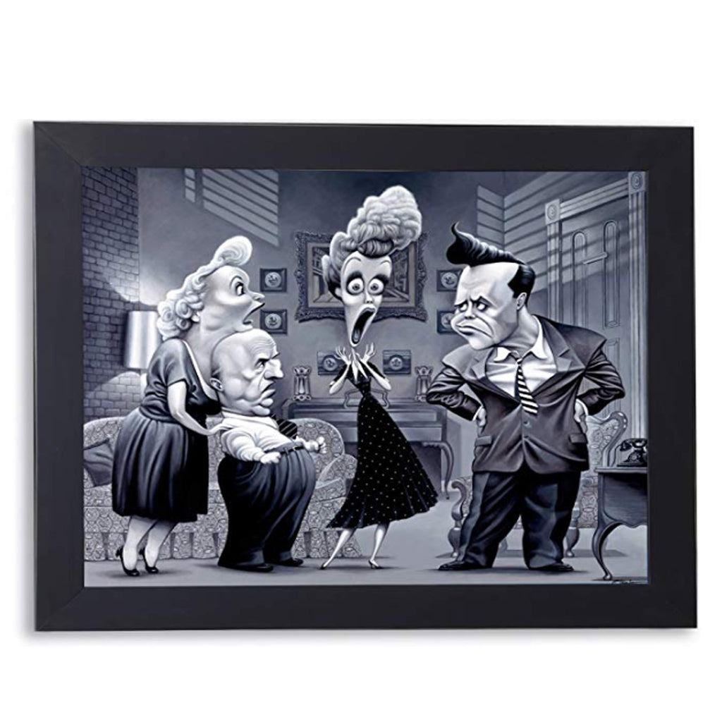 I Love Lucy Framed TV Scene Wall Art by O'Keefe