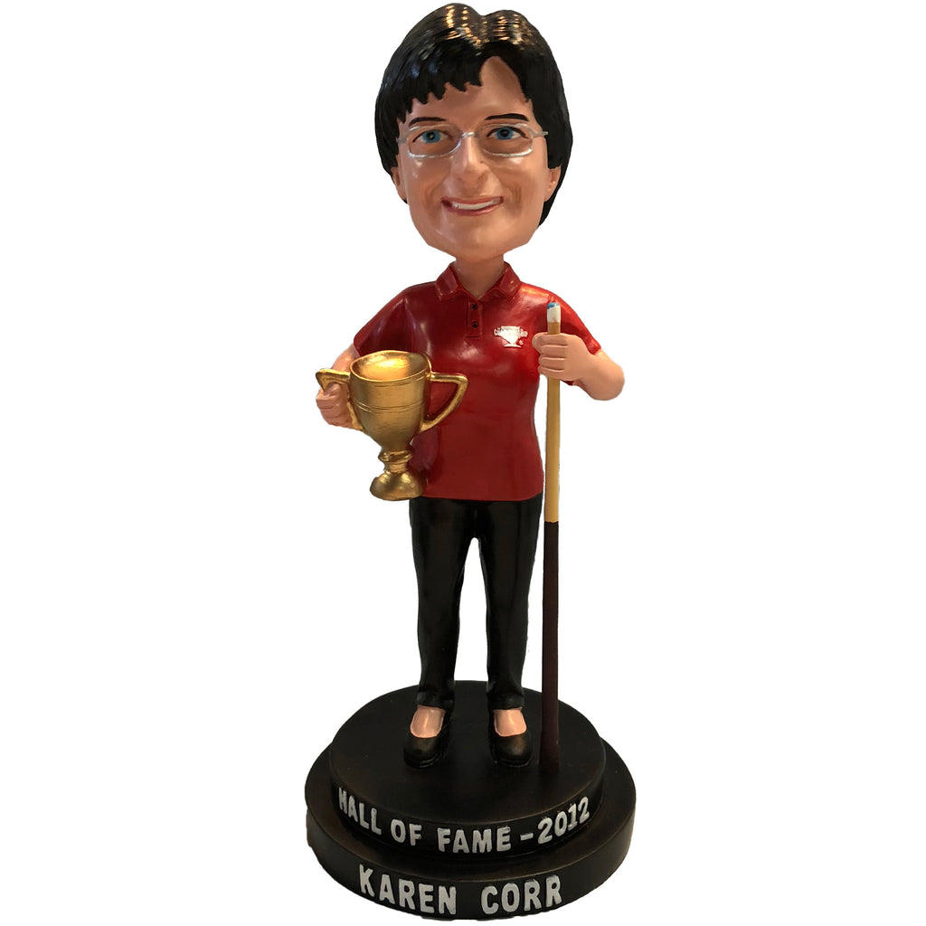 Karen Corr Bobblehead Pool Player Legend Collector Series #5