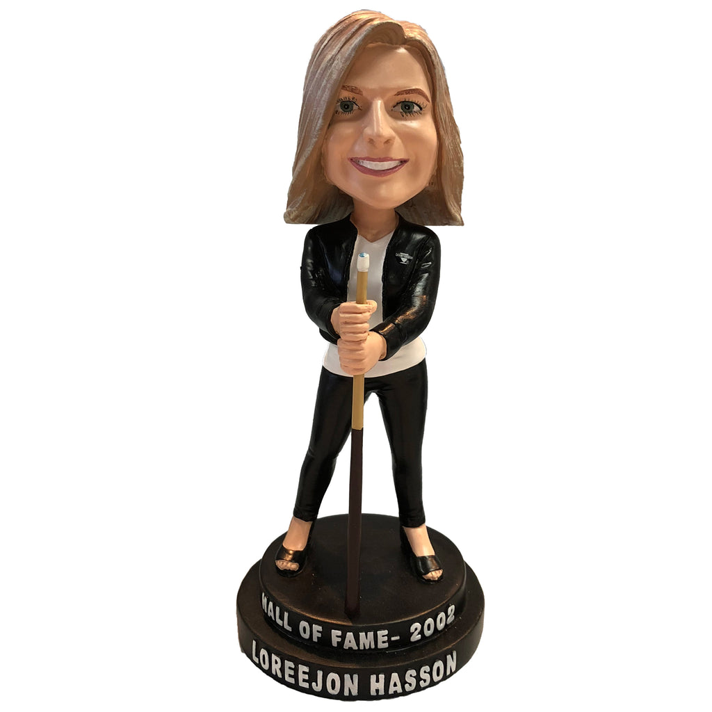 Loree Jon Hasson Bobblehead Pool Player Legend Collector Series #6