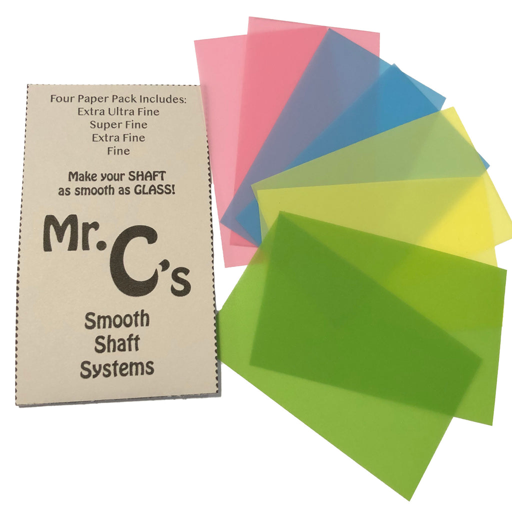 Mr Cs Smooth Shaft Systems Micro Burnishing Papers