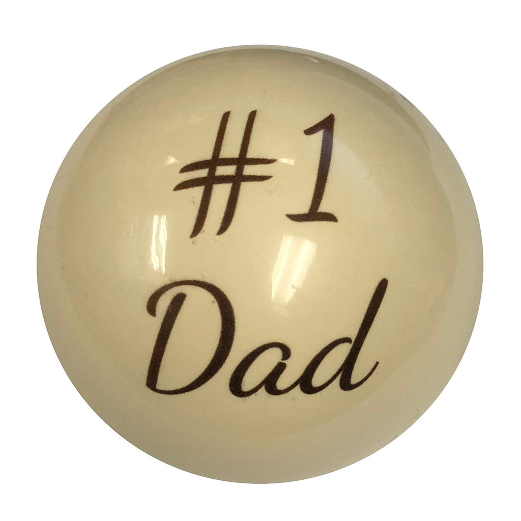 #1 Dad Custom Cue Ball