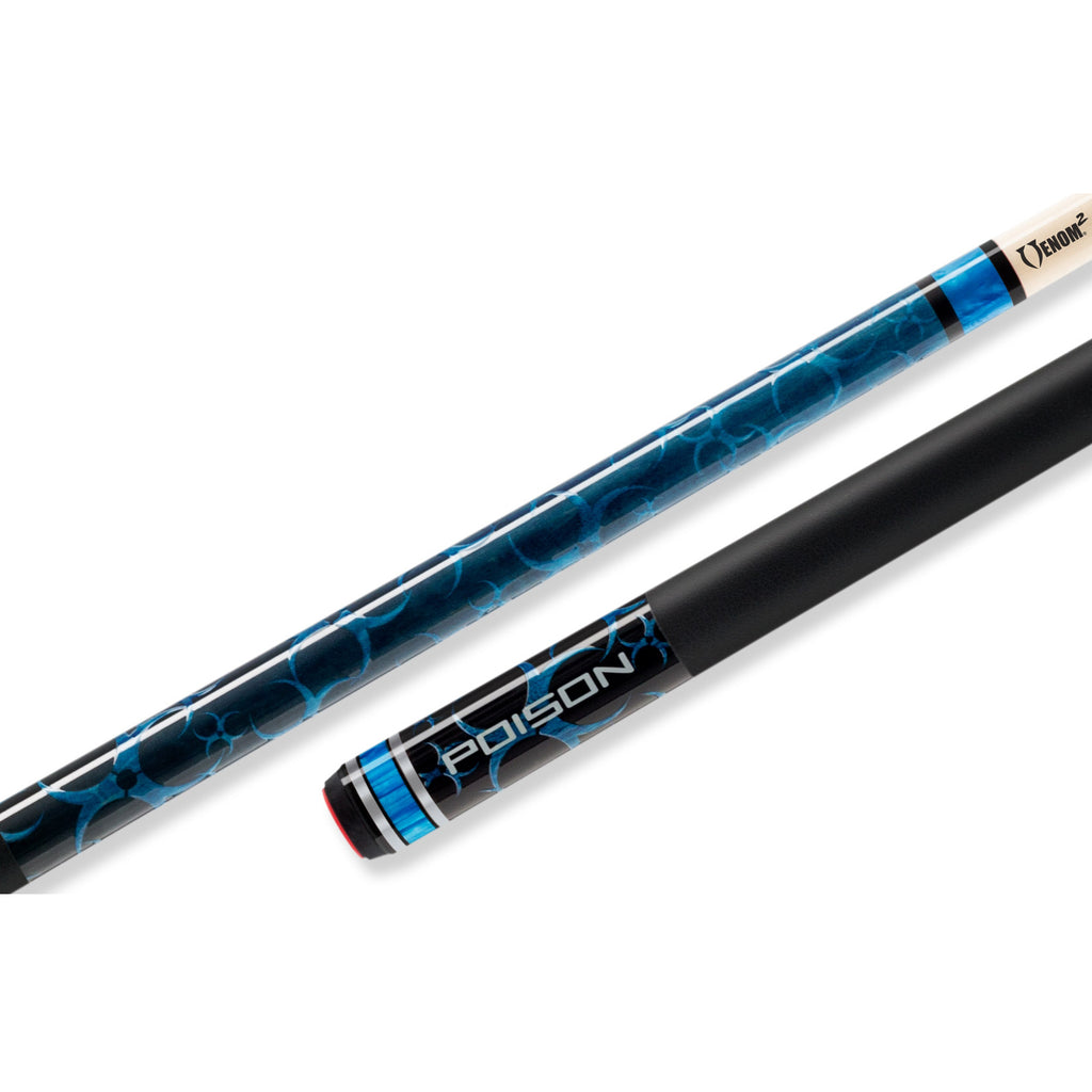 Poison Cyanide Blue Pool Cue
