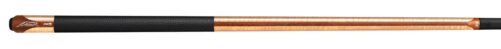 P3 Limited Edition Mélange Curly Pool Cue - Leather Luxe Wrap & Z Shaft