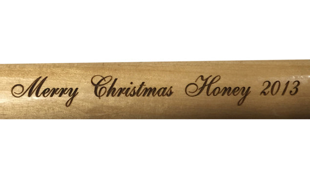 Engrave your cue purchased from our store!