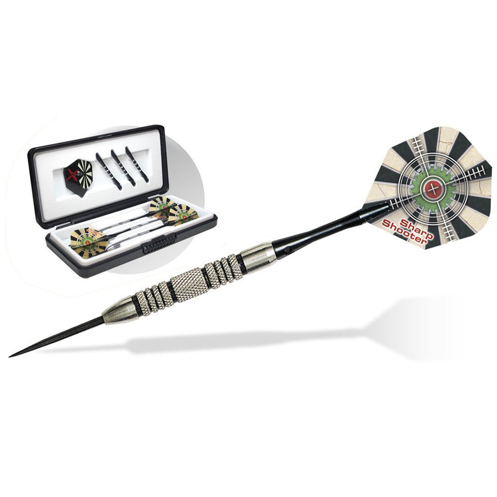 Sharp Shooter Steel Tip Tungsten Darts